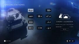 Battlefield V Vehicle Specialization