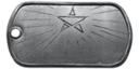 BF4 Commander Leadership Medal Dog Tag