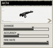 BFH AK74 Stats