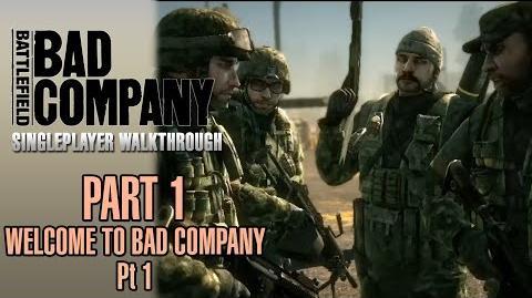 Welcome to Bad Company