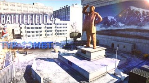 Frontline Battlefield 4 TYPE-99 MBT Gameplay