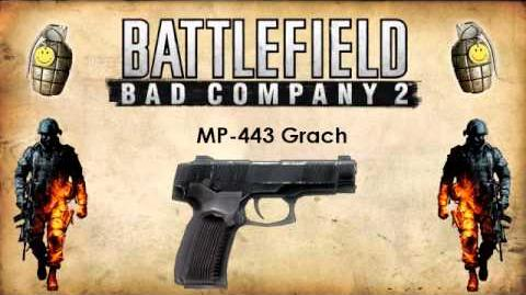 Battlefield Bad Company 2 - Pistol Sounds