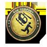 Bronze Combat Aviator Patch