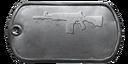 BF4 ACE 52 CQB Master Dog Tag