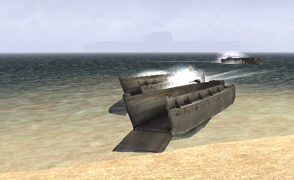 File:BF1942 LCVPs LANDING ON MIDWAY.png