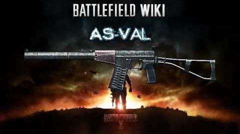 Battlefield 3 - AS Val Sound