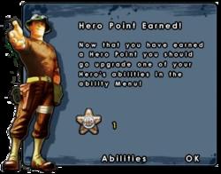 Hero Point Earned