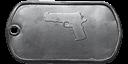M1911 master dog tag