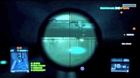 Battlefield 3 MK11 MOD Gameplay (Sniper)