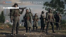 BF1 Select Squad