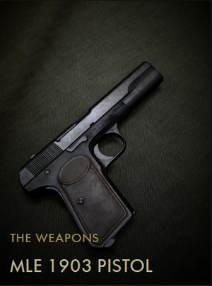 MLE 1903 Pistol Codex Entry