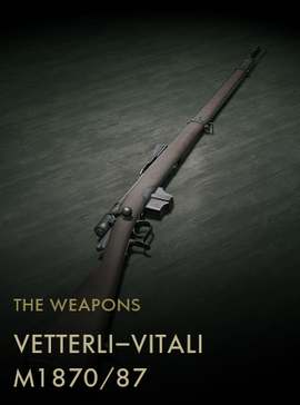 Vetterli-Vitali M1870 87 Codex Entry