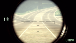 BFBC2 Type 88 Default Sight