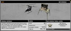 BFBC2 UAV Stats