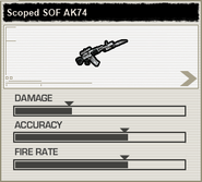 BFH Scoped SOF AK74 Stats