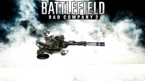 Battlefield Bad Company 2 - Anti-Air Gun (ZU-23-2) sounds