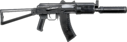 BFBC2 AKS-74u ICON