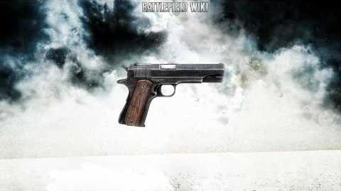 Battlefield Bad Company 2 - WWII M1911