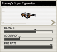 BFH Tommy's Super Typewriter Stats
