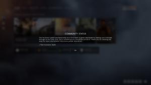 Battlefield 1 Community Status