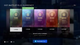 Battlefield Currency Packs