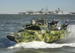 Riverine Command Boat IRL Photo