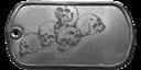 BF4 Squad Wipe Medal Dog Tag