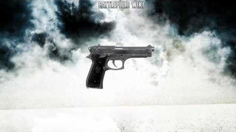 Battlefield Bad Company 2 - M9 Pistol Sounds