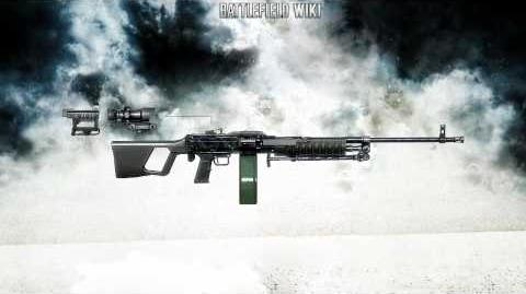 Battlefield Bad Company 2 - Type 88 LMG Sound