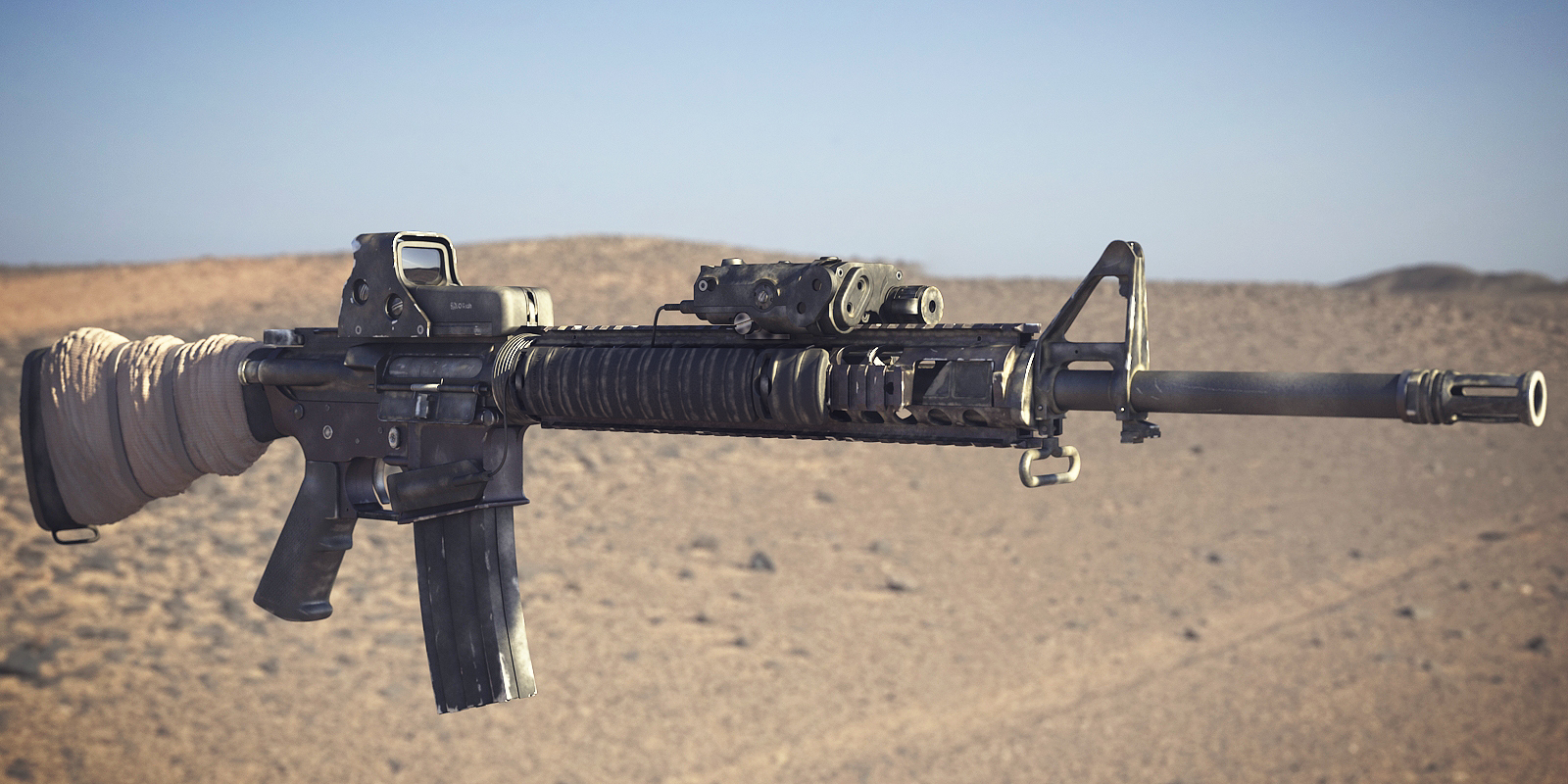 Image - BF3 M16A4 3D Model 2.png | Battlefield Wiki ... M16a4 Bf3