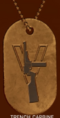 BFV Trench Carbine Sharpshooter Dog Tag