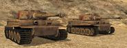 BF1942 AFRIKA KORPS TIGER I