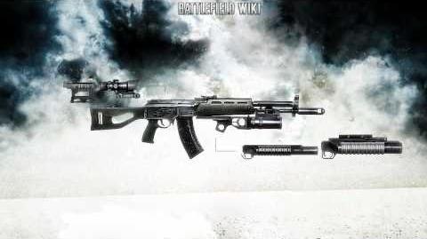 Battlefield Bad Company 2 - AEK-971 Vintovka Sound