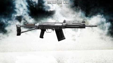 Battlefield Bad Company 2 - Saiga 20K Semi Sound