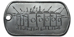 Armored Column Dog Tag