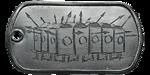 Armored Column Dog Tag