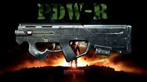 Battlefield 3 - PDW-R Sound