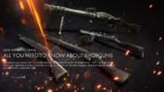 New Weapons Wave Shotguns Promo BF1
