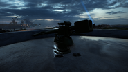 BF1 SK45 Coastal Cannon Destroyed Back