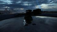 BF1 SK45 Coastal Cannon Destroyed Back