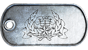 BF3 Co-Op Service Star 5 Dog Tag