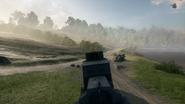 BF1 EV4 Armored Car Rear
