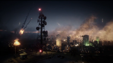 BF3 BIG CITY NIGHT BATTLE