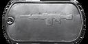 BF4 M240B Master Dog Tag