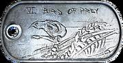 Bird of Prey Dog Tag