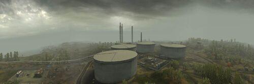 BF2 Daqing Oilfields Panorama