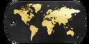 BF4 Premium World Map Dog Tag