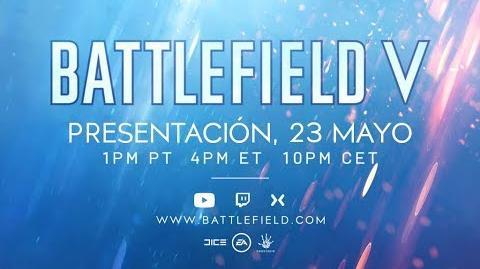 ESPAÑOL Presentación oficial de Battlefield 5