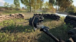 BFV AA Gun Fortification