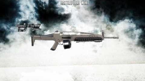 Battlefield Bad Company 2 - XM8 LMG Sound